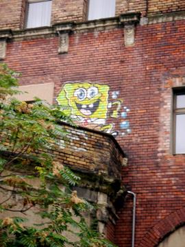 Sponge Bob war auchda