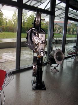 Alte Filmkamera beimMDR