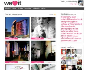 Screenshot weheartit.com