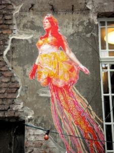 flying mermaid