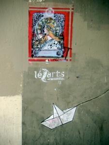 les arts + papierschiff