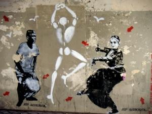 cross cultural streetart