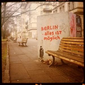 Berlin, alles ist möglich.