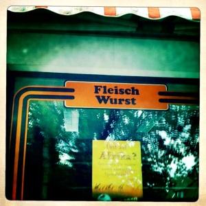 Fleisch und Wurst.